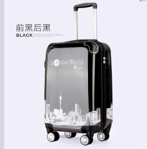 Abs + PC фильм дорожного чемодана трудно для кайт-интернатов размер 20 дюйм(ов) 24 дюйм(ов) для мужчин и женщин