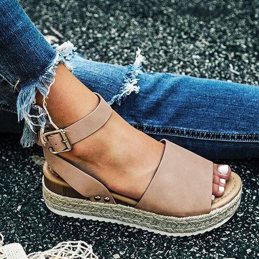 Women Sandals Plus Size Wedges Shoes For Women High Heels Sandals Summer Shoes 2019 Flip Flop Chaussures Femme Platform Sandals 5