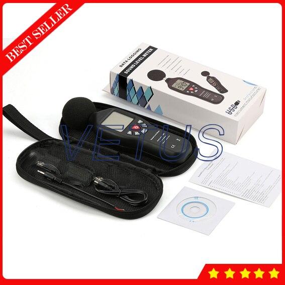 TL-200 Digital USB Sound Level Decibel Tester Meter with Noise Data Logger uyigao ua824 digital decibel sound level meter noise meter tester with max min hold 30dba 130dba range 9v battery included