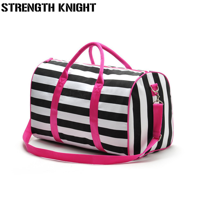 Stripe Bag Messenger-Bags Crossbody-Bag Duffle Victoria Brands Handbags Famous Travel