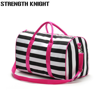 2019 women famous brands handbags Travel duffle crossbody bag casual women messenger bags victoria stripe bag beach bags 1