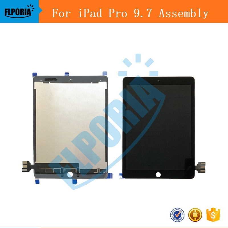 LCD Display Screen Assembly For iPad Pro A1673 A1674 A1675 9.7 LCD Display Touch Panel Screen Combo Assembly For iPad Pro genuine grey silve a1706 lcd assembly 2016 2017 year replacement for macbook pro retina 13 a1706 lcd screen assembly mlh12ll a