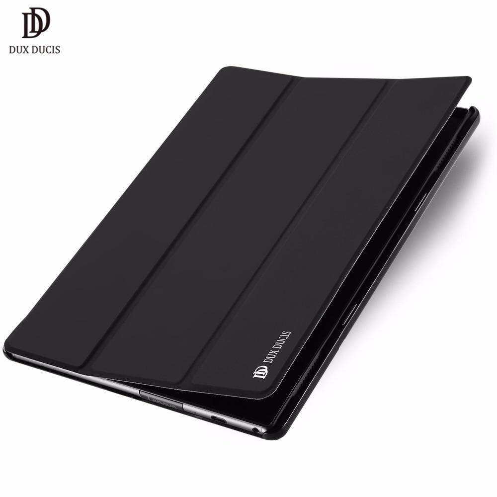 DUX DUCIS Luxury Flip PU Leather Case For Lenovo TAB 4 10 Plus Smart Book Cover For Lenovo TAB4 10 Plus TB-X704L TB-X704 10.1 dux
