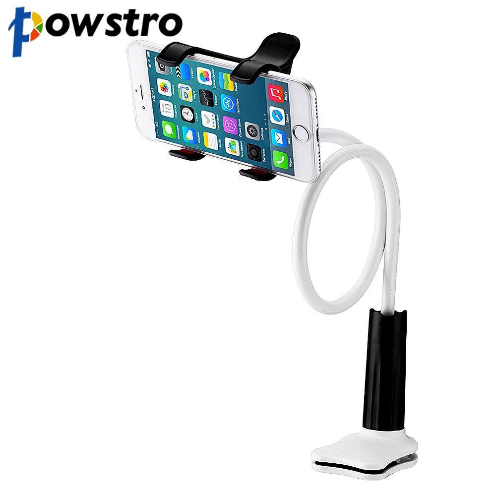 Powstro Estande Suporte Do Telefone Flexível Long Arm Holder Desktop Bed Preguiçoso Suporte Móvel Para O E-os leitores Para Celular telefones Tablet