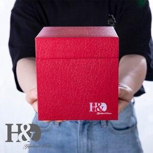 Image 5 - H & D di Cristallo Rosso Rosa Bouquet di Fiori Figurine Ornamento con il contenitore di Regalo di Nozze Decorazione Fermacarte per Giornata di Presenza di san valentino