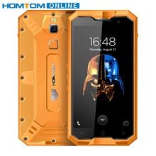 Doogee HOMTOM зоджи Z8 IP68 Водонепроницаемый 5.0 дюймов смартфон Octa core 4 ГБ Оперативная память 64 ГБ Встроенная память Android 7.0 4250 мАч 13MP отпечатков пальцев ID телефона