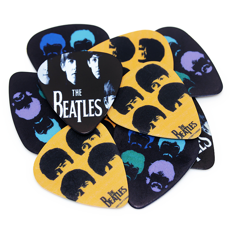 10pcs Electric Guitar Picks Pure Acoustic Guitar Pick Ukulele Bass Musical instrument  0.71mm 1S1-1