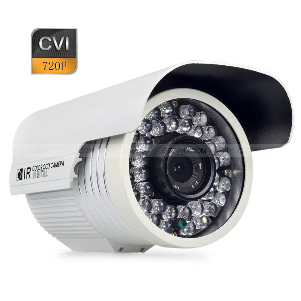 ФОТО HD-CVI 720P 1.0MP 6mm Lens CCTV Bullet Security Camera IR Waterproof w/ Bracket