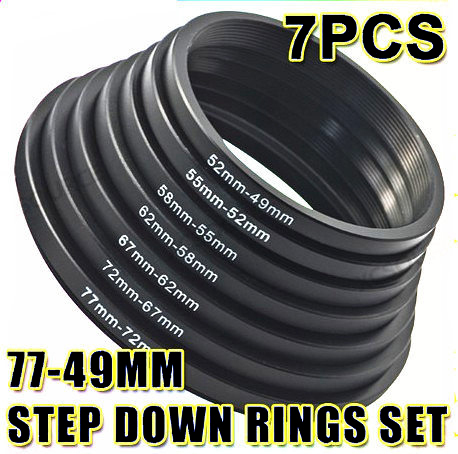 Promaster 55-49mm Step Down Ring