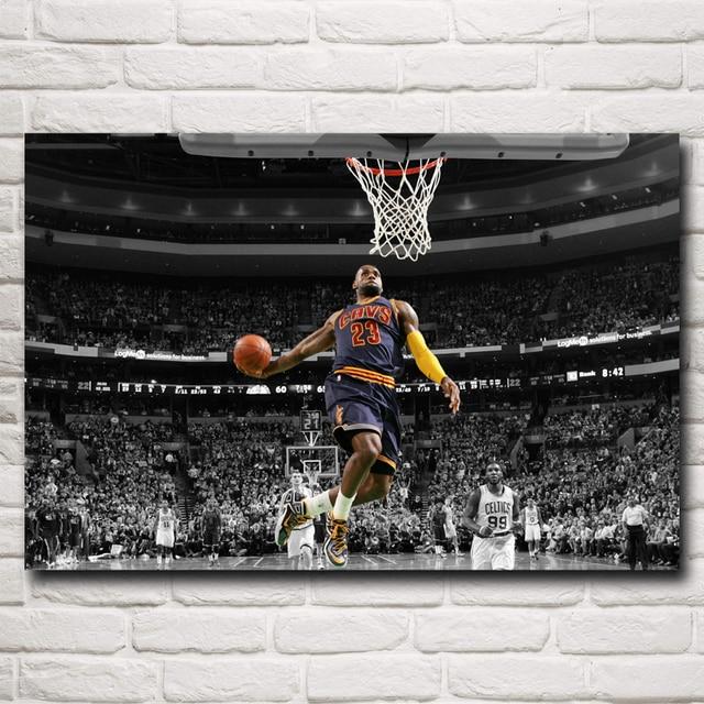 Basketball Star Lebron James Art