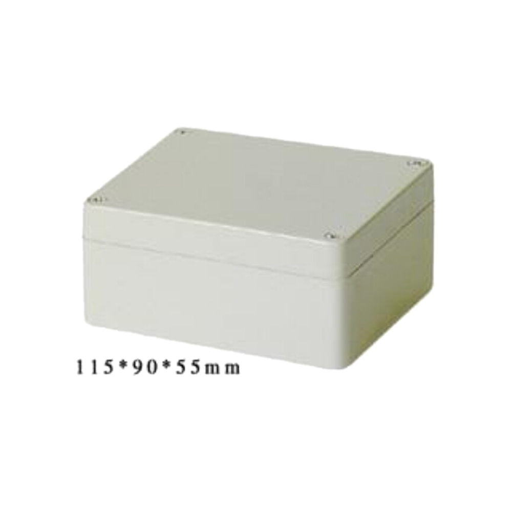1PCS  mini grey Plastic Waterproof Cover Enclosure Case good quality 115x90x55MMABS Electronic Project Box high quality