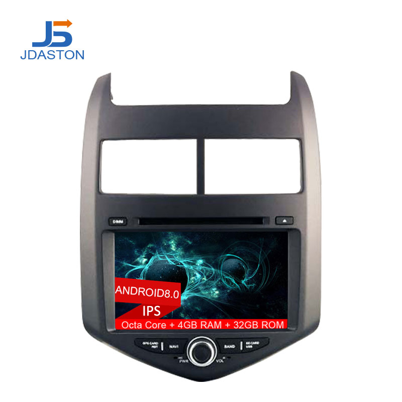 все цены на JDASTON Octa Cores 4G+32G Android 8.0 Car DVD Stereo For Chevrolet AVEO 2011 2012 2013 GPS Navigation Multimedia 2Din Car radio онлайн