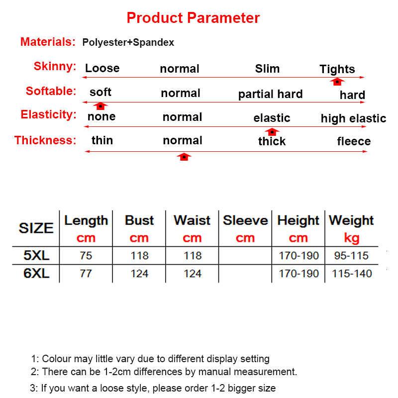 Artı boyutu 5XL/6XL erkek spor koşu sıkıştırma spor yelek kolsuz Crossfit gömlek vücut geliştirme elastik sıkı Tank Top