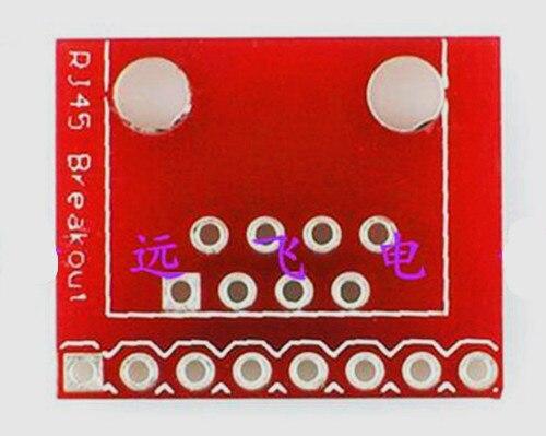 Free Shipping!!! 5pcs Breakout Board Electronics RJ45 BREAKOUT
