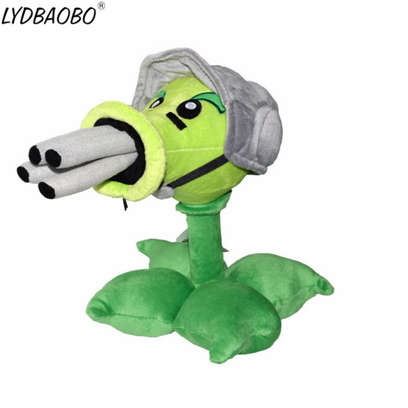 LYDBAOBO 1PC 30CM New Type Plants&Zombies Plush Toys High Quality Soft Stuffed Plush Toys Doll For Kids Birthday Gifts Party Toy