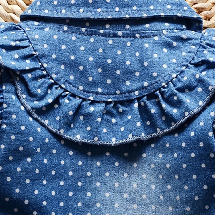 2016-spring-new-Korean-children-girls-lovely-polka-dots-denim-jacket-female-baby-cotton-jean-lapel (2)