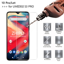 10 Pcs Tempered Glass For UMIDIGI S3 PRO Screen Protector 2.5D 9H Protective Film