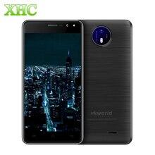 Original VKworld F2 Smartphone 8 GB Red 3G 4.5 pulgadas Android 6.0 MTK6580A Quad-core RAM 1 GB Dual SIM GPS FM Células teléfono