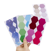 30pack/lot Gradient index classification stickers Creative Note Sticker Marking School Supply