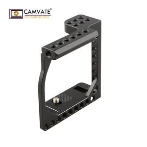 Image 5 - CAMVATE kamera kafesi çerçeve A6000/A6300/A6400/A6500 ve Eos M/M10 C1850 kamera fotoğraf aksesuarları