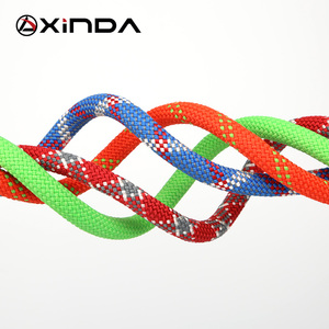 Image 2 - XINDA Camping Rock Climbing Rope 9mm Static Rope 21kN High Strength Safety Rope For Working at Height Climbing Equipment
