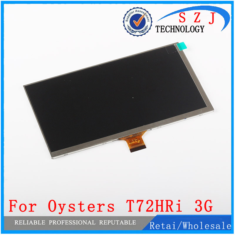 New 7'' inch LCD Display For Oysters T72HRI 3G Tablet 30Pins inner LCD Screen Matrix Replacement Panel Free Shipping new lcd display matrix for 7 nexttab a3300 3g tablet inner lcd display 1024x600 screen panel frame free shipping