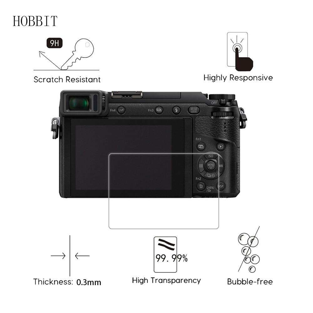 2Pack Per Panasonic Lumix DMC GX80 GX7II G8 0.3 millimetri 2.5D 9H Temperato Trasparente Protezione Dello Schermo di Vetro Digitale pellicola della macchina fotografica