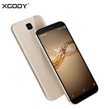 In Stock XGODY D24 3G Unlock 18:9 IPS Screen Smartphone 5.5 Inch Android 7.0 Nougat 8.0MP+13.0MP MTK Quad Core 1+16 Mobile Phone