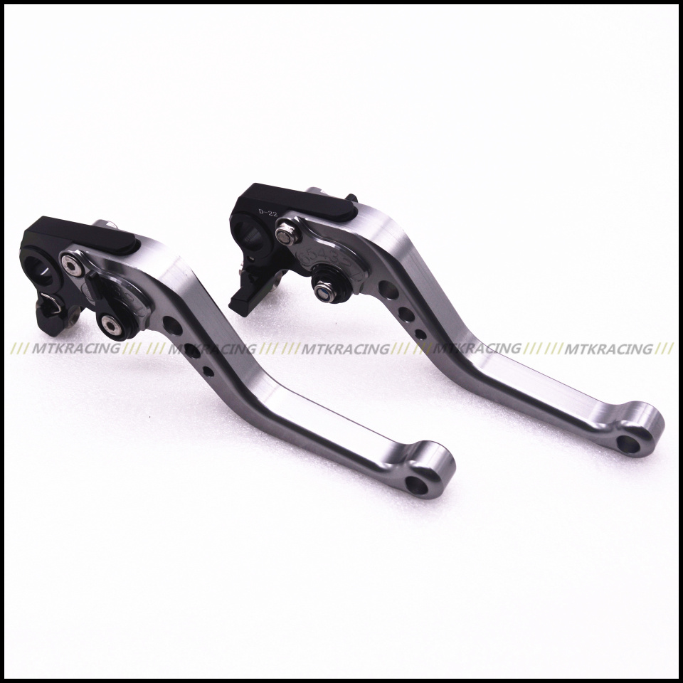MTKRACING Motorcycle Short Handlebar CNC Clutch Brake Levers For Suzuki GSX1250F/SA/ABS DL1000/V-STROM TL1000R SV1000/S 2016 new motorbike modification parts cnc 3d short brake clutch levers lug bar ends handlebar for suzuki motorcycle accessories
