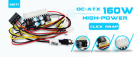 1PCS LOT DC ATX 160W 160W Power Supply Module 24pin Mini ITX DC ATX Power Supply
