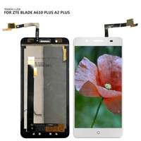 Free Shiping For ZTE Blade A610 Plus A2 Plus Touchscreen LCDs Touch Screen Digitizer Glass LCD