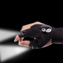 Рыболовная перчатка со светодиодный светильник инструменты для спасания наружная Экипировка бытовые перчатки ремонтные инструменты детали водонепроницаемые противоскользящие перчатки
