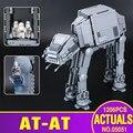 Lepin 05051 Genuino nueva Serie Star El AT-AT Transporte Blindado Robot Bloques de Construcción Ladrillos de Juguetes Educativos 75054
