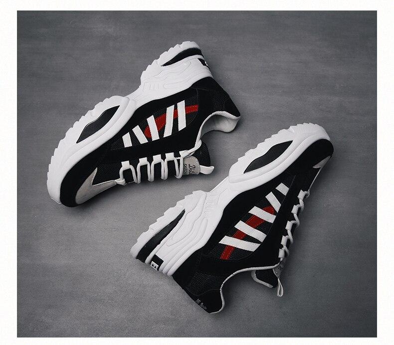 HTB1XPw.aOnrK1Rjy1Xcq6yeDVXap BomKinta Stylish Designer Casual Shoes Men Yellow Sneakers Black White Walking Footwear Breathable Mesh Sneakers Men Shoes