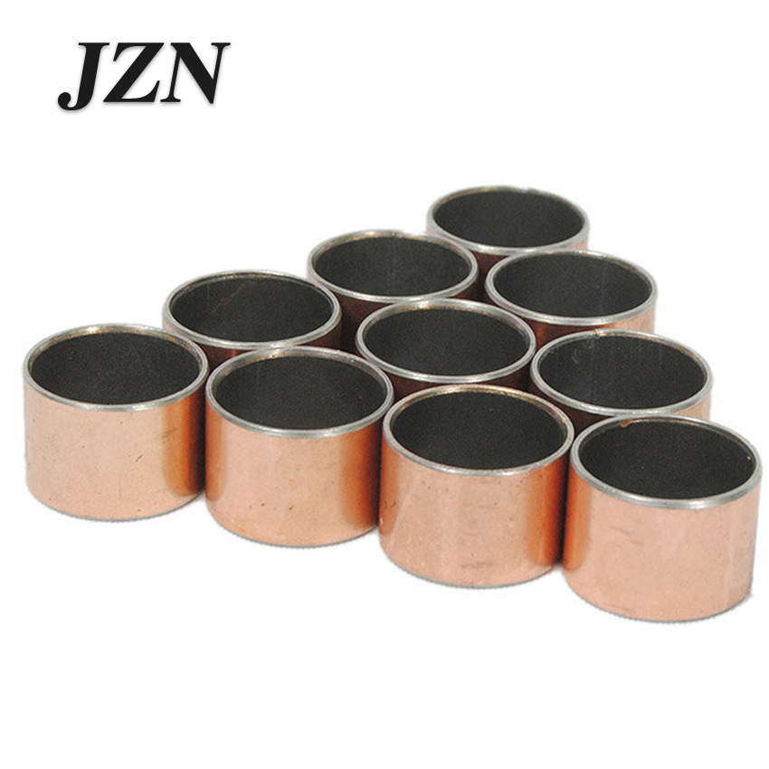 2PCS SF1 Composite Oilless Bushing Copper Sleeve Self-lubricating Bearing Inner Diameter 55/60/65/70 Copper Sets