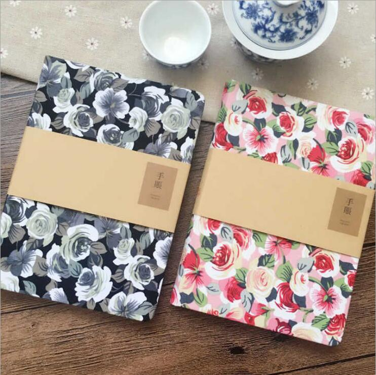 Floral hand account Notebook Gift diary Note Book Agenda planner Material escolar caderno Office stationery supplies GT096 электрический лобзик bort bps 650 q