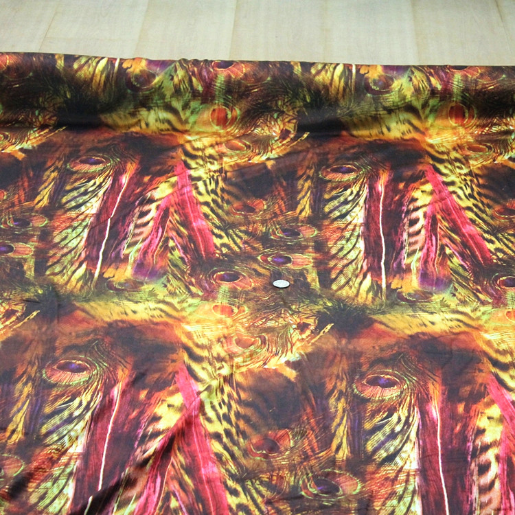 soft spandex stretch silk fabric Charmeuse silk satin dress material width 114cm thickness 19mm sell by