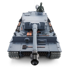 tank 3818-1 2.4G 1:16 Tiger I Metal Catapillar & Gear And Inducer HengLong remote control Tank with Flashlight Sound simulator