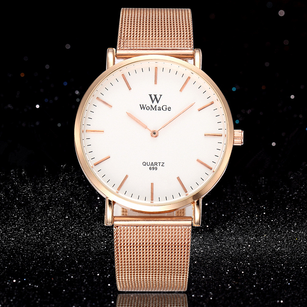 Women Watches 2019 Brand Luxury Fashion Quartz Ladies Watch Clock Rose Gold Dress Casual Girl Relogio Feminino Watches Women New