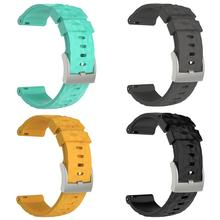 New Arrival Replacement Soft Silicone Watch Band Watchband Strap for Suunto Spartan Sport Wrist HR Baro