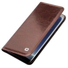 QIALINO Lederen Flip Case voor Samsung Galaxy S8 Bag Portemonnee Ultradunne Telefoon Cover voor Galaxy S8 Plus voor 5.8/6.2 inch