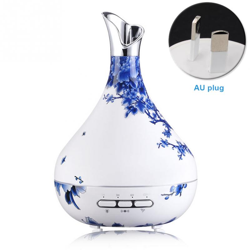 AU Plug Essential Oil Diffuser Aroma Lamp Aroma therapy Intelligent induction Aroma Diffuser Mist Maker for Home