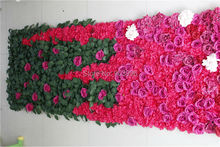 SPR  High quality 3*0.8M wedding flower wall stage backdrop decorative wholesale artificial flower table centerpiece