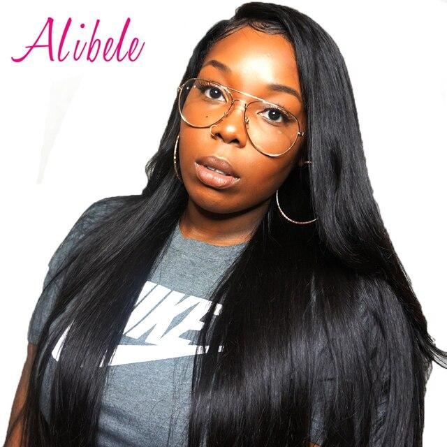 Alibele Peruvian Straight Hair 100 Human Hair 1 Or 4 Bundles Full