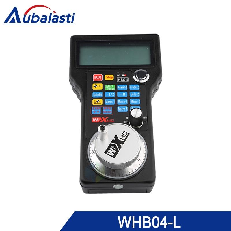 XHC CNC volantino wireless Mach3 MPG ciondolo volantino per la fresatura macchina 4 assi MPG WHB04 WHB04LXHC CNC volantino wireless Mach3 MPG ciondolo volantino per la fresatura macchina 4 assi MPG WHB04 WHB04L