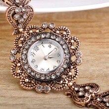 Turco Reloj Pulsera Para Las Mujeres la Aleación Plateada Oro Cristalino Rojo Brazalete De Resina Retro Pavo Real de la Joyería de Cuarzo Reloj de Pulsera