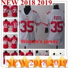 e2b002768 A+++ Women ladies all stitched San Francisco s Joe Montana 42 Ronnie Lott  80 Jerry Rice 82 Torrey Smith 81 Anquan Boldin Jersey