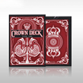 1 DECK Red crown the red decks poker v2 single license plate Playing Cards magic Playing Card Tricks 83090