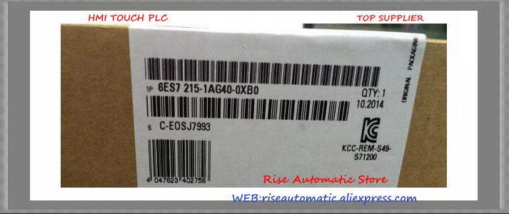 New original PLC 6ES7215-1AG40-0XB0 6ES7 215-1AG40-0XB0 S7-1200 CPU PLC REPLACE 6ES7215-1AG31-0XB0 in box 14 DI 24V DC 10 DO