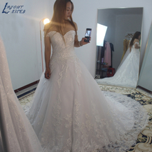 LAYOUT NICEB SHJ564 Robe De Mariage Wedding Dresses A-Line